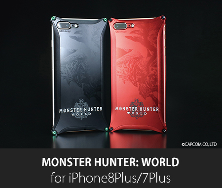 MONSTER HUNTER: WORLD Collaboration model for iPhone8Plus/7Plus