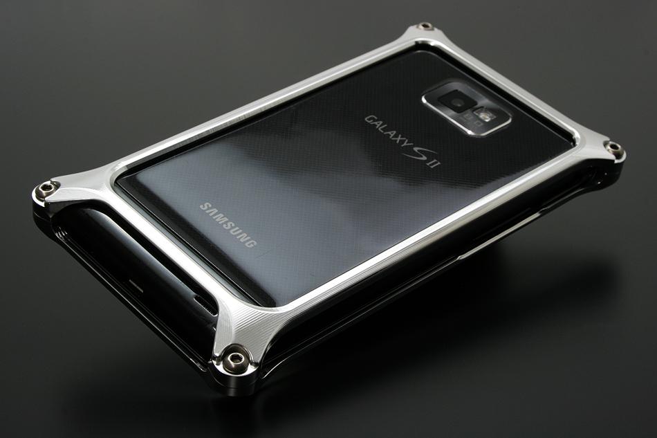 Case Design phone case make : Gild design Solid bumper for SAMSUNG GALAXY S2