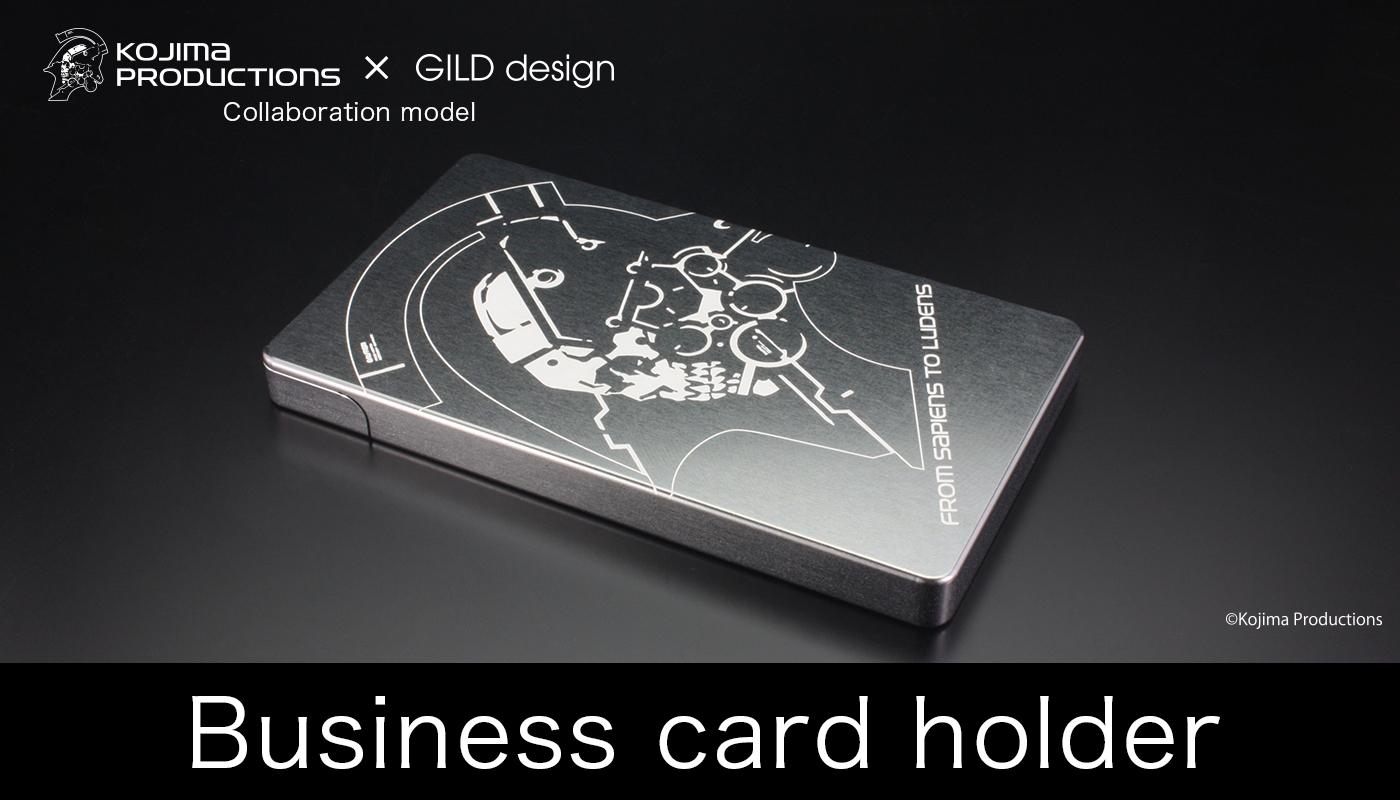 business card holder『KOJIMA PRODUCTIONS』